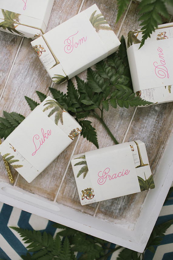 Tropical wedding inspiration