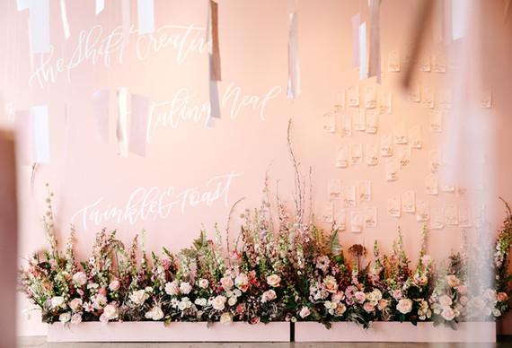 Romantic pink wedding inspiration