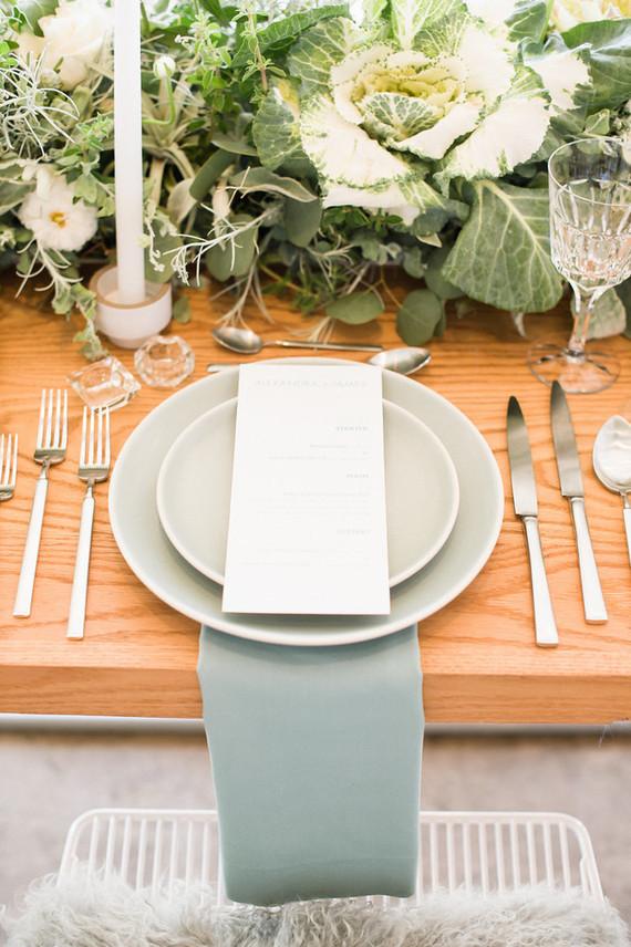 Spring green wedding inspiration