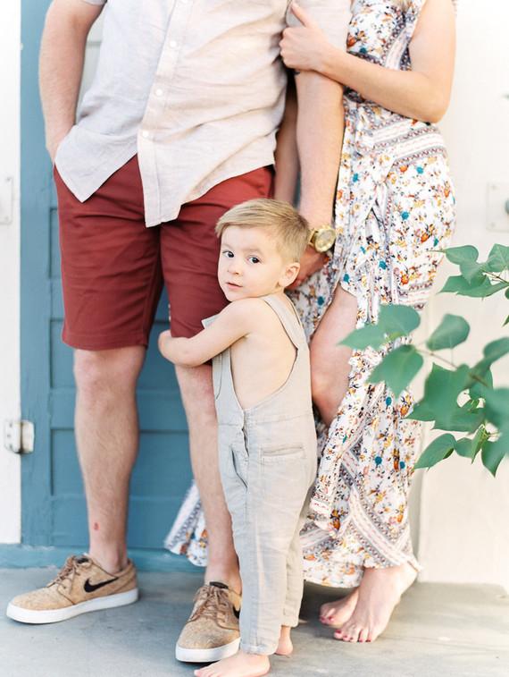 Central California family photos on film