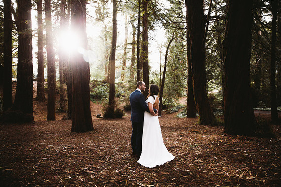 Redwood wedding portraits