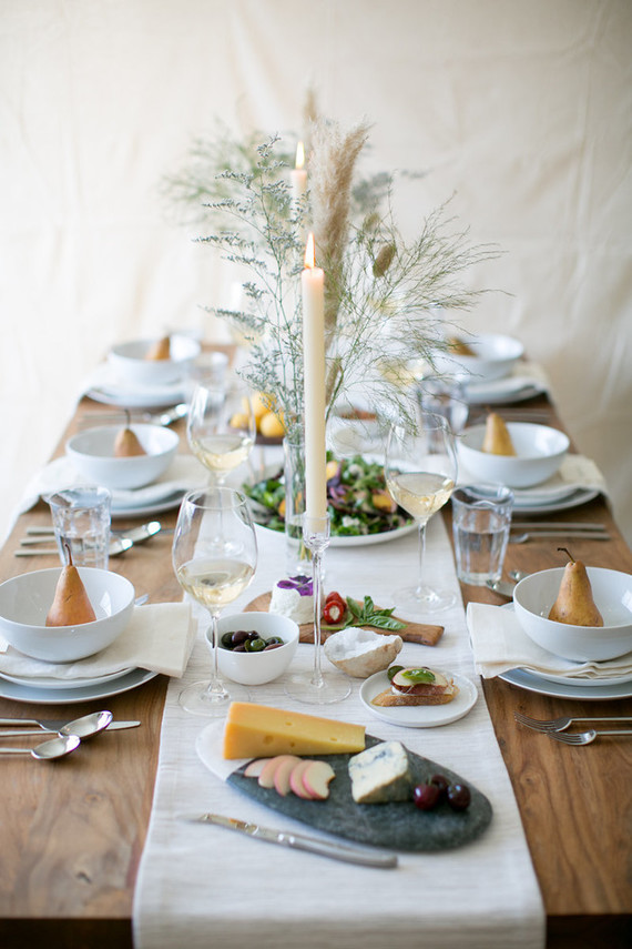 late summer dining & Tableware essentials with Crate and Barrel - 100 Layer Cake