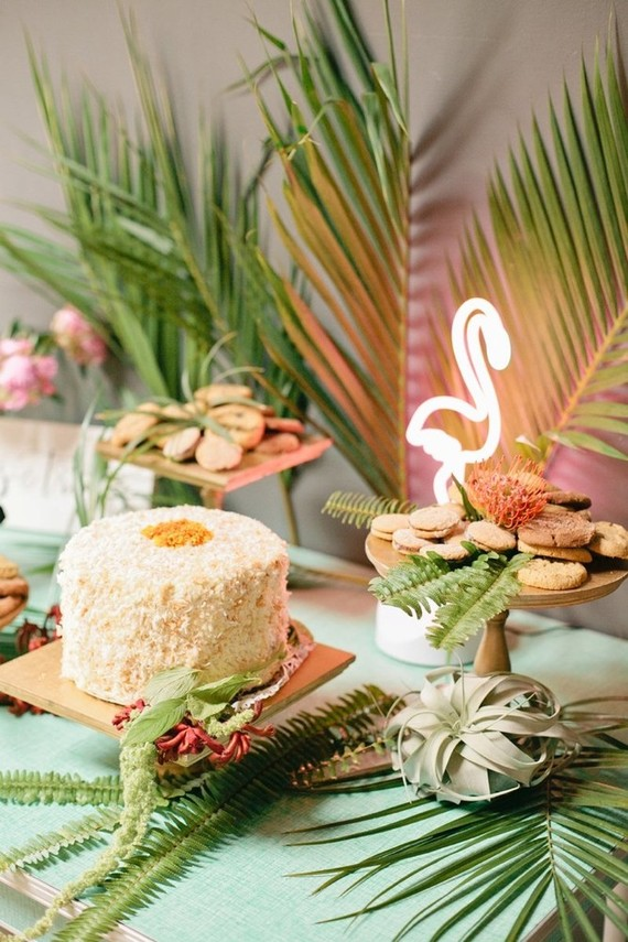 Tropical 1st birthday party