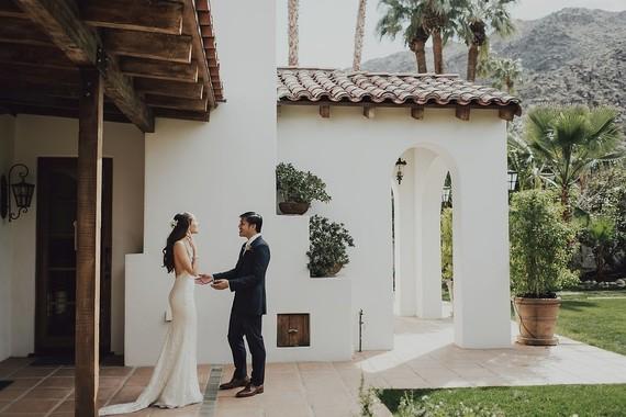 Palms Springs wedding
