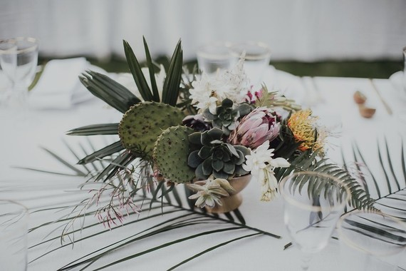 Tropical bohemian palm springs wedding 100 layer cake tropical palm springs wedding mightylinksfo