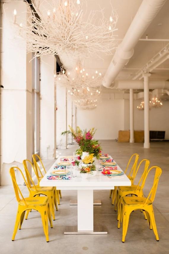 Colorful tablescape inspiration