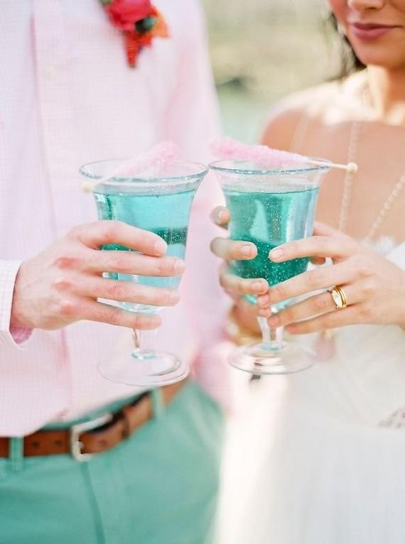 Tropical wedding inspiration