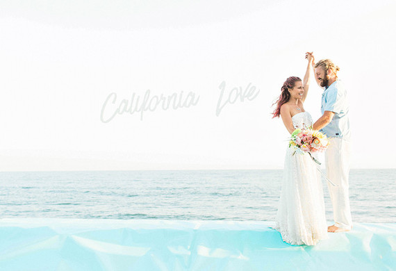 California coast wedding