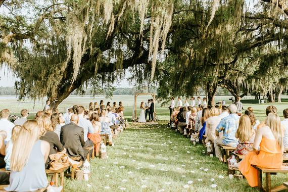 Florida wedding ceremony