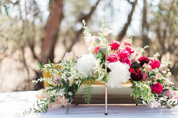 Unique floral centerpiece