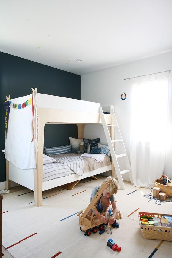 Modern Boys Room modern, natural shared boys room | nursery + kids room decor | 100