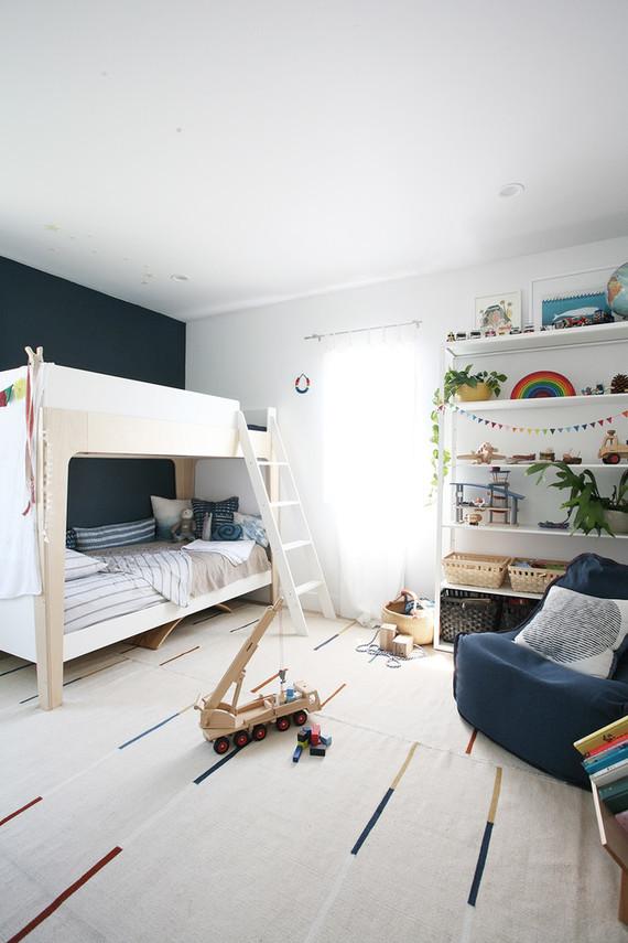 Fabulous Modern, natural shared boys room | Nursery + Kids Room Decor | 100  JE95