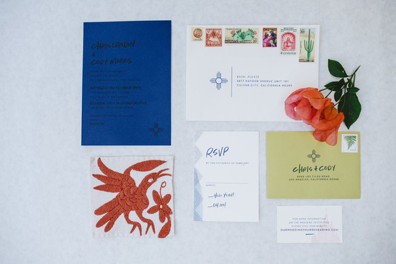 Mexican wedding invitations