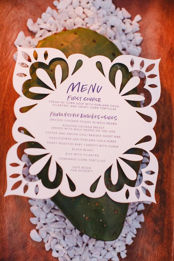 Destination Mexico wedding decor