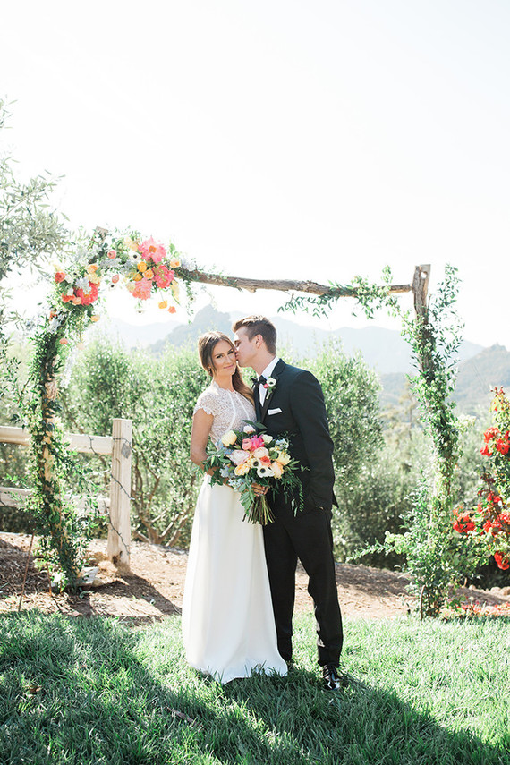 Cielo Farms wedding ceremony