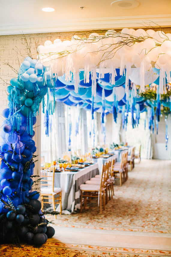 balloon arch installation