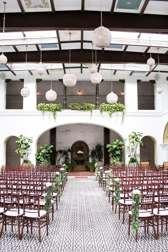 Classic ceremony venue