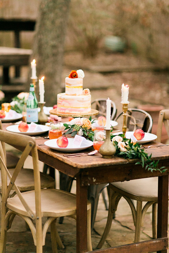 how to throw an intimate backyard wedding