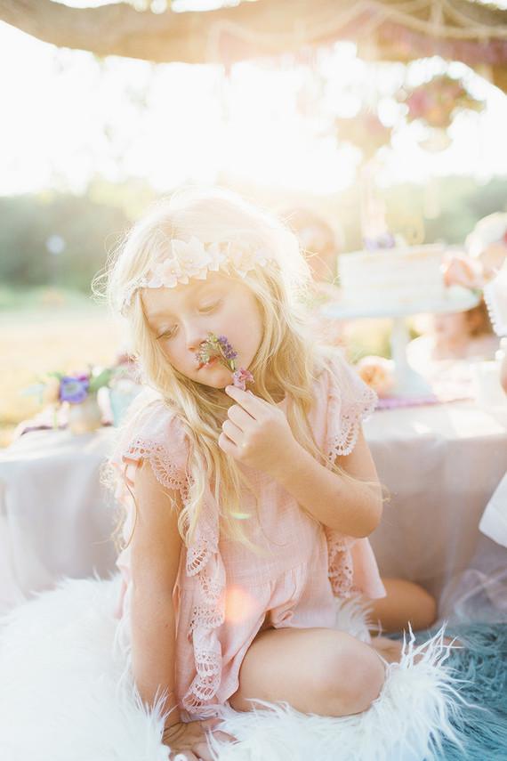 Fairytale childrens tea party