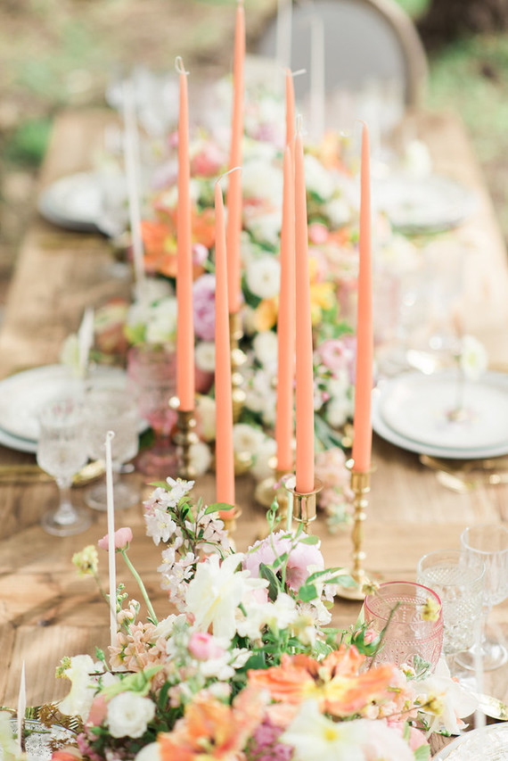 elegant vintage inspired blush wedding inspiration
