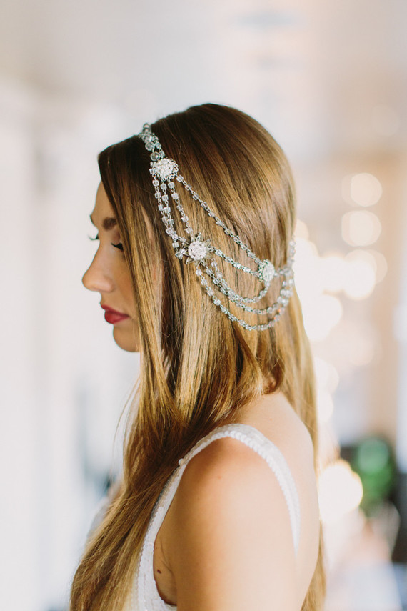 boho bridal headpiece