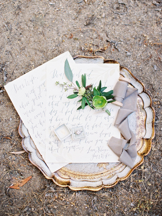 olive grove inspired wedding invites