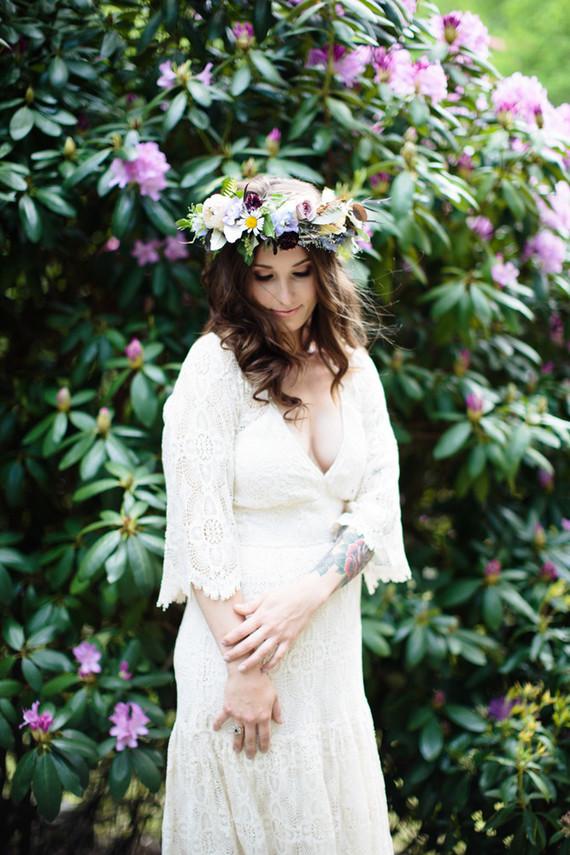 rustic boho bride