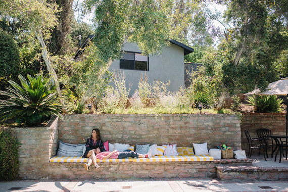 Maya Brenner Silverlake home tour