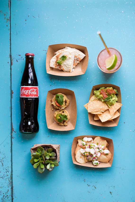 taco and coke