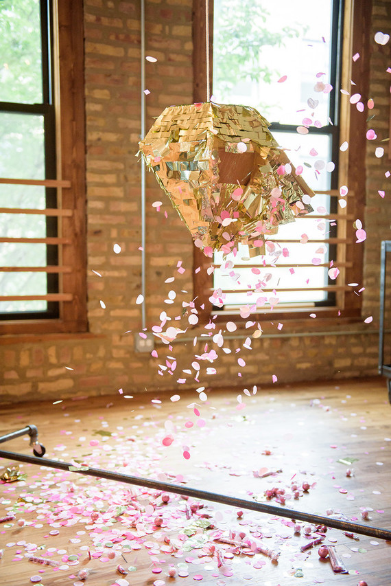 gender reveal piñata
