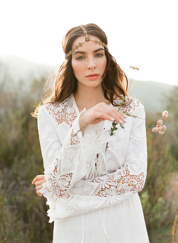 Bohemian bridal fashion inspiration