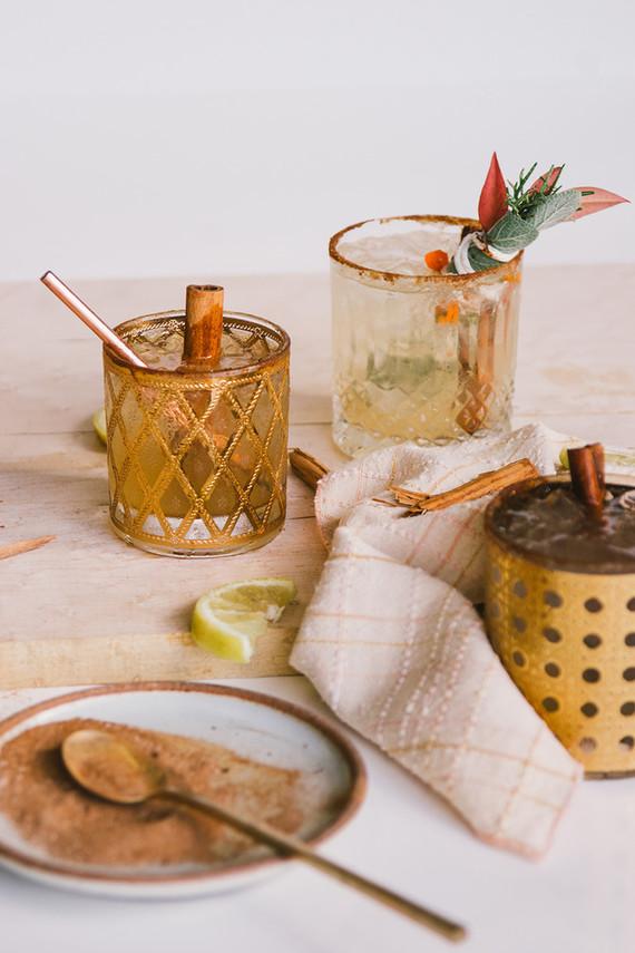 Harvest Wood bourbon cocktail by Barçon Cocktails