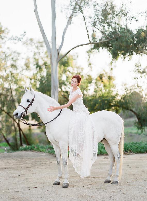 Fall bridal style
