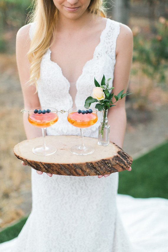 Signature wedding cocktail