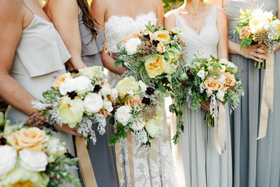 Spring bridesmaids style