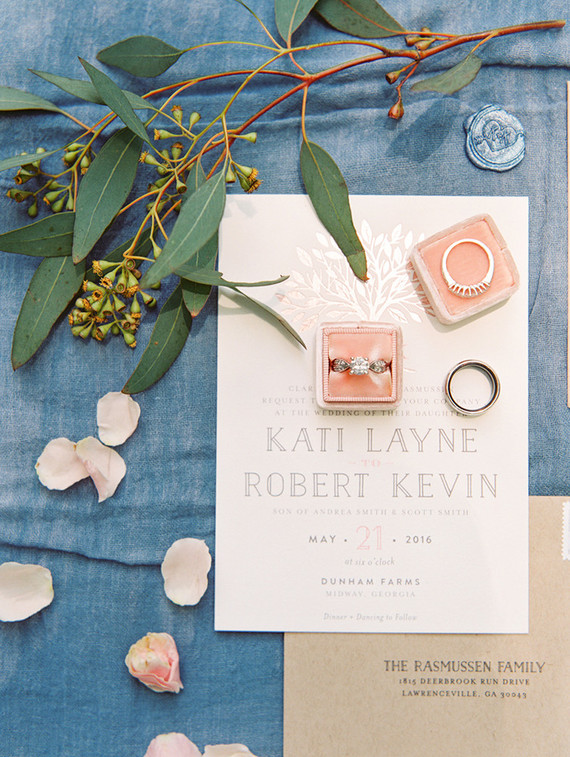 Minted Wedding invitation