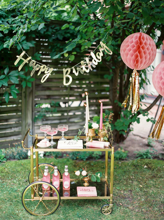 Pink 2nd birthday garden party pink party ideas 100 for Balloon decoration courses in london