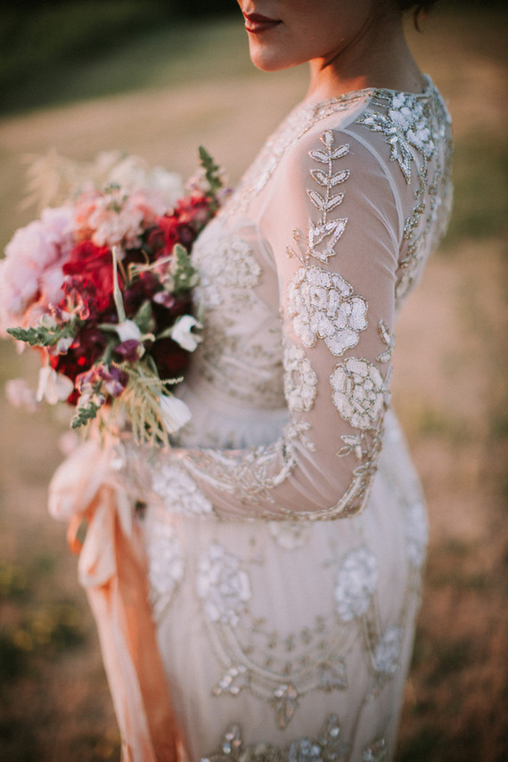 BHLDN wedding gown