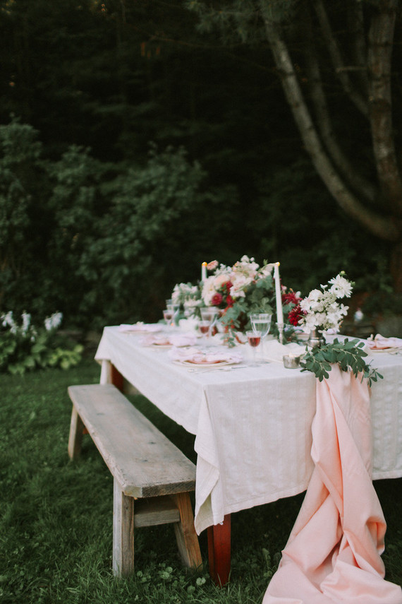 Autumn berry and blush wedding inspiration