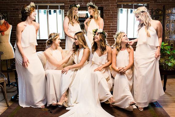 Nouvele Amsale bridesmaid dresses