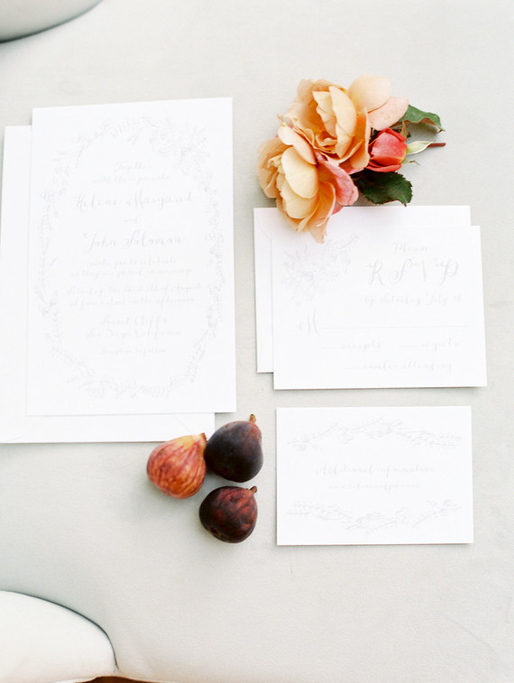 Simple fall wedding inspiration