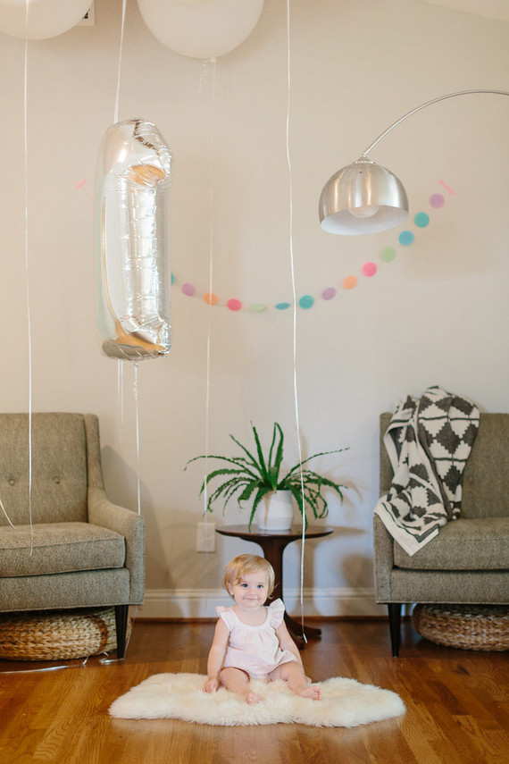 modern gem-themed 1st birthday