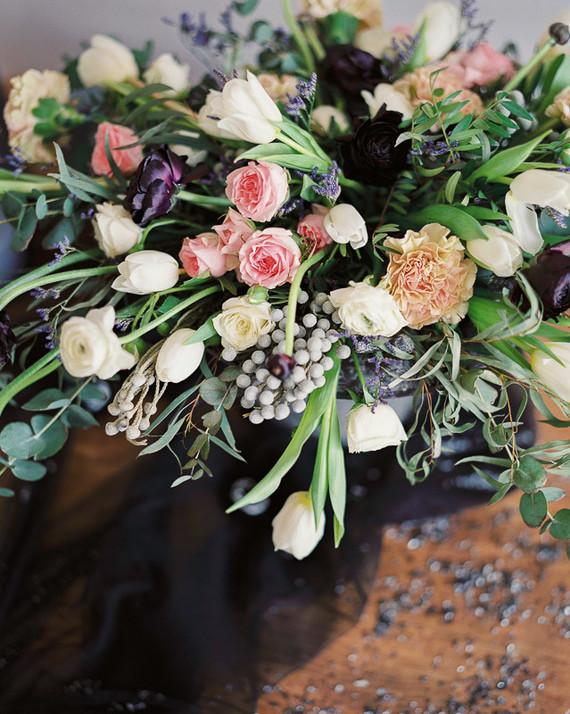 dark romantic flowers