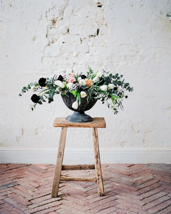romantic black wedding ideas