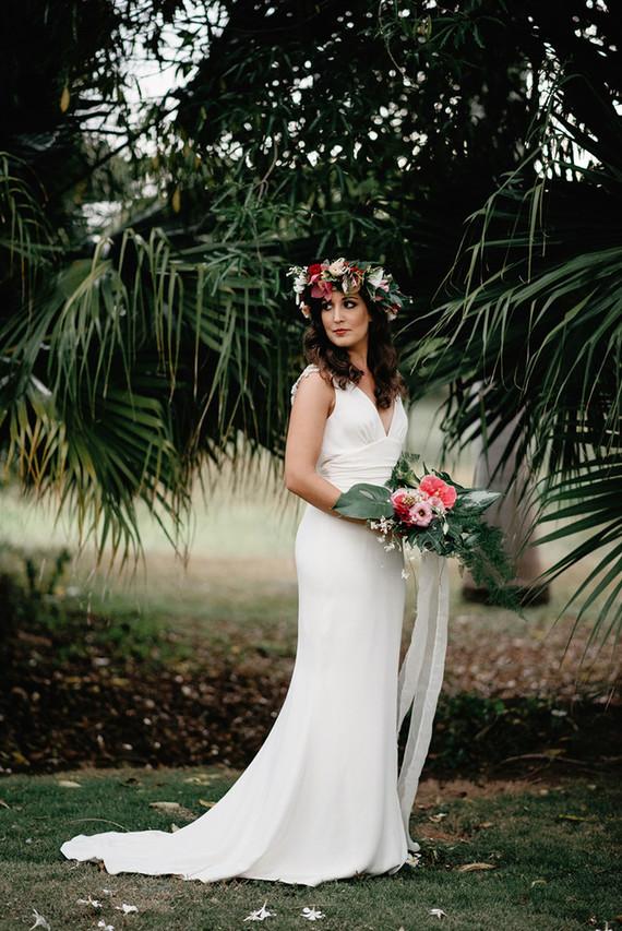 Tropical bohemian wedding inspiration