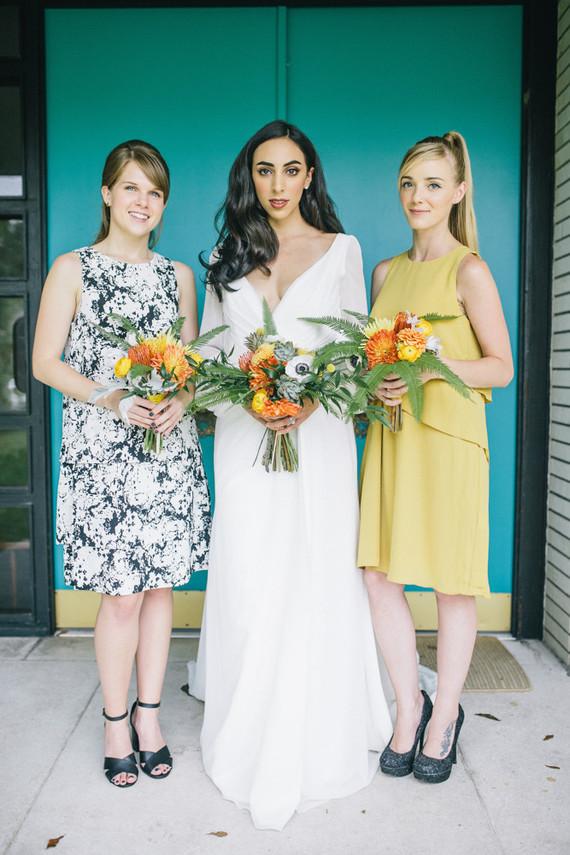 Ivory and Beau wedding dress