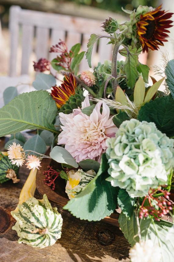 Fall floral arrangements
