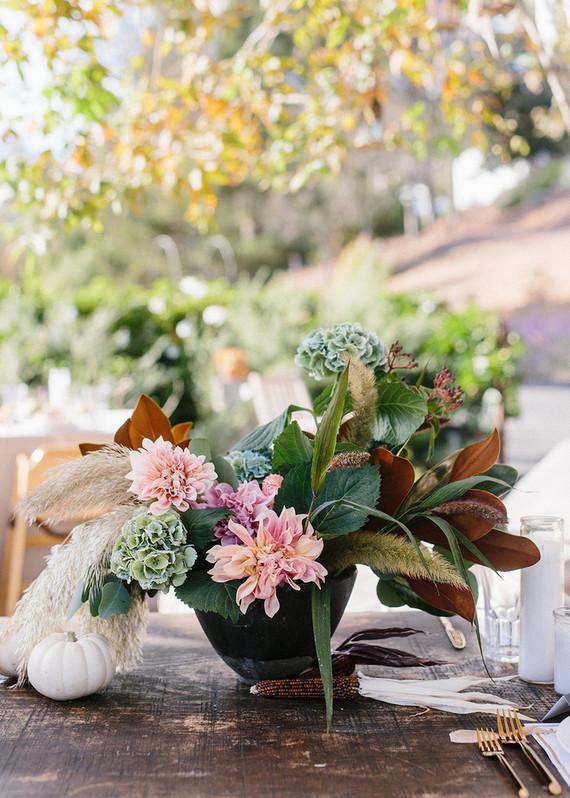 rustic fall floral arrangements