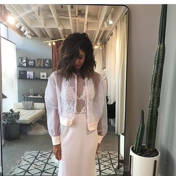 Mariana Hardwick wedding gown