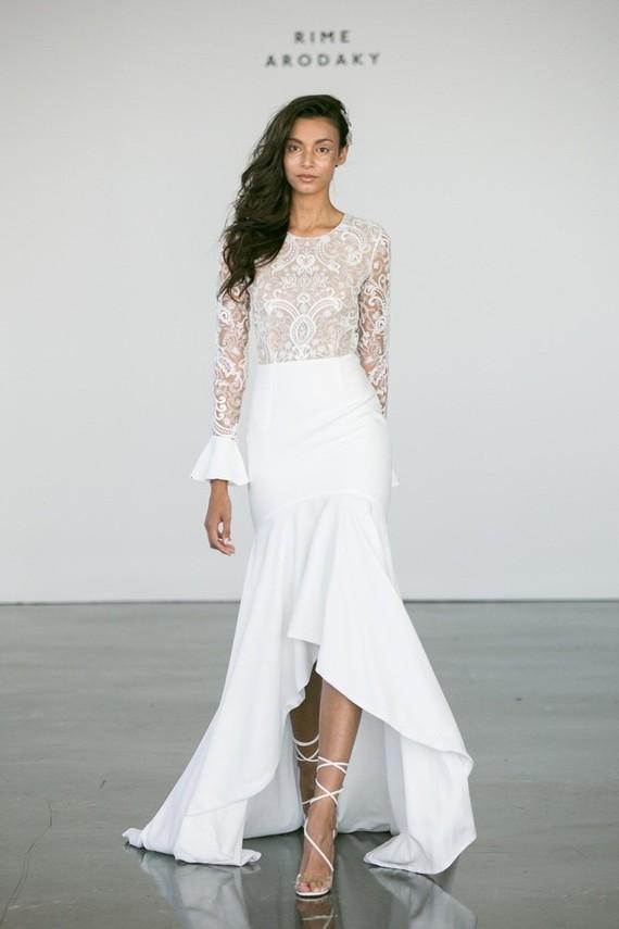 Rime Arodaky wedding gown